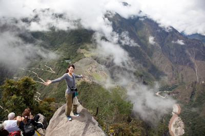 Machu Picchu ~入場編 ②ワイナピチュ山に登る~